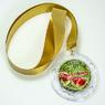"""Медаль """"За честное соблюдение карантина"""" с золотой лентой. (артикул 925611818)"""