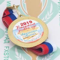Медаль выпускника детского сада 50 (артикул 852511083)