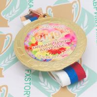 Медаль выпускника детского сада 70 мм. Металл (артикул 871011268)