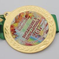 """Медаль """"Посвящение в первокласснику"""", новинка, мод.8"""