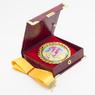 Медаль в футляре с золотой лентой