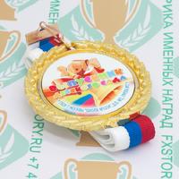 Медаль выпускника детского сада Premium70. Металл (артикул 882411382)
