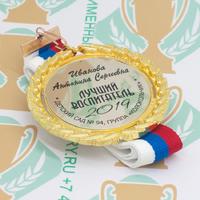 Медаль выпускника детского сада Premium70. Металл (артикул 879411352)