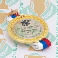 Медаль выпускника детского сада Premium70. Металл (артикул 900611564)
