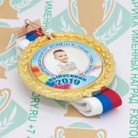 Медаль выпускника детского сада Premium70. Металл (артикул 878011338)