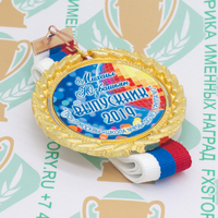 Медаль выпускника детского сада Premium70. Металл (артикул 880211360)