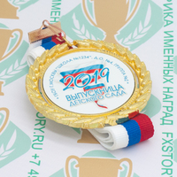 Медаль выпускника детского сада Premium70. Металл (артикул 881411372)