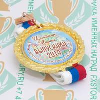Медаль выпускника детского сада Premium70. Металл (артикул 882511383)