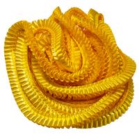 Лента плиссированная для наградных розеток. Золото 33С (33А)