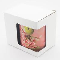 Коробка для кружки 8 марта