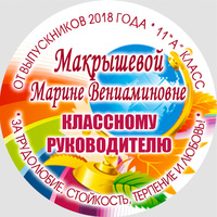 Вставка в кубок Выпускника 9-11 класс (артикул 74759764)