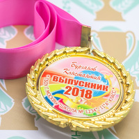 Медаль выпускника 9-11 класса Premium (артикул 74509638)