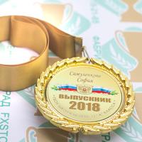 Медаль выпускника 9-11 класса Premium (артикул 74449632)