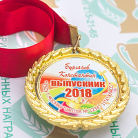 Медаль выпускника 9-11 класса Premium (артикул 74419629)