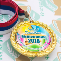 Медаль выпускника 9-11 класса Premium (артикул 74349622)