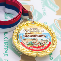 Медаль выпускника 9-11 класса Premium (артикул 74339621)