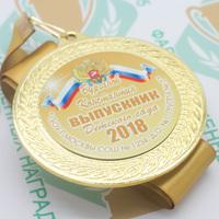 """Медаль """"Выпускник детского сада"""" (артикул 66728610)"""