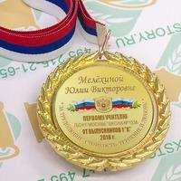 Медаль Выпускник 1 класса премиум, именные, металл. (артикул 772610160)