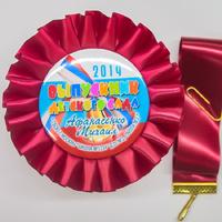 Наградные розетки выпускнику детского сада (артикул 838110921)