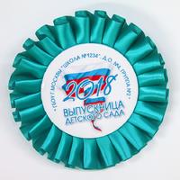 Наградные розетки выпускнику детского сада (артикул 826210802)