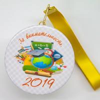 Закатная медаль на ленте выпускнику детского сада (артикул 814910689)